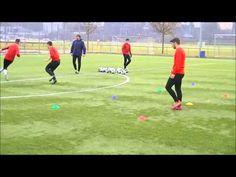 Fußball - 360° Spieler - Schnelligkeitstraining Kognitiv - YouTube