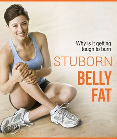 """I am sure many of you feel the same; even I use to feel """"why is my belly fat so stubborn"""". There are many hidden reason behind it.  #weight_loss"""