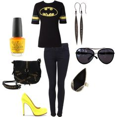 Batman, created by devin-hawe on Polyvore