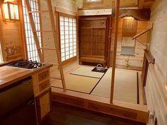 "Sublime 134 sq. ft. tiny home is a Japanese ""Tea House"""