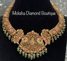 Gold Jewelry, Beaded Jewelry, Neck Piece, Bridal Jewellery, Antique Gold, Chains, Beads, Antiques, Beading