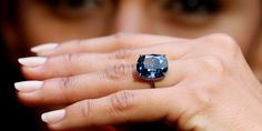 Blue Moon Diamond, for more info visit luxurysafes.me/blog/