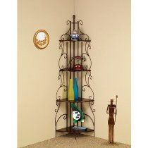 the shelf unit itself is a great decorative item