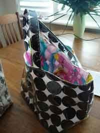 Plastic coated bag