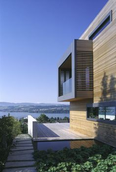 Love the clean design & the amazing view
