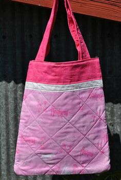 Pink Husker Tote Bag by PolkaDotPouches on Etsy, $25.00 Small Tote Bags, Polka Dots, Reusable Tote Bags, Trending Outfits, Nebraska, Unique Jewelry, Handmade Gifts, Pouches, Pink