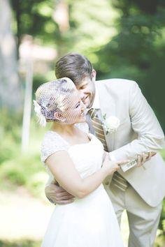 first look!   Anna Pociask #wedding
