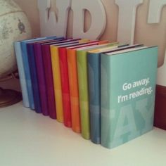 Go Away Dust Jackets - Free Printables! Great for the readers in your life who just don't want to be disturbed.