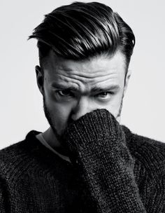 Justin Timberlake for T Magazine Fall Cover