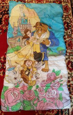 Disney Beauty And The Beast Kids Children Sleeping Bag Movie Bags