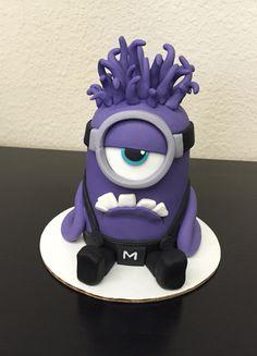 Jill's Purple Minion cake