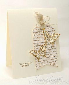 Stamps:  Papillon Potpourri (SU!) Sentiment (MFT)