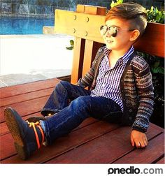 Our kid will dress like this whether he likes it or not :-)