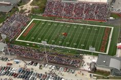 Hancock Stadium, Normal, IL (Illinois State University)  before the new entrance