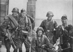 Soldiers of the Polish Home Army photographed during the Warsaw Uprising it's a good guess to say that the majority of these soldiers photographed were killed fighting.