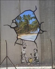 Artist of the day 2/25/12: graffiti 5: Banksy « artfulhelix