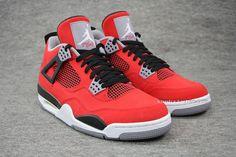 "Air Jordan 4 ""Fire Red Toro"""