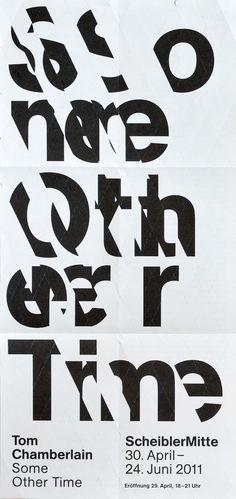 Poster for Scheibler Mitte (+ Identity)