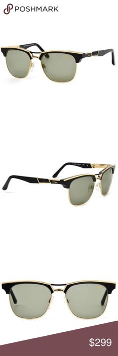 39d497bb09ac CAZAL 9050 SUNGLASSES (001) BLACK GOLD AUTHENTIC These are 100% Genuine