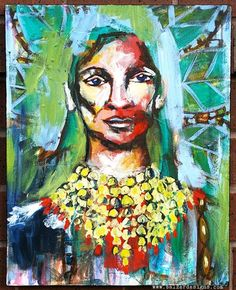 1-IndianChief-wm .... love her 100 canvas idea
