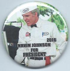 """navin johnson- for president 2016- magnet- steve martin-""""the jerk""""- movie photo from $3.99"""