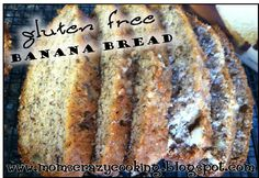 MOMS CRAZY COOKING: GLUTEN FREE Banana Bread {from a cake mix}