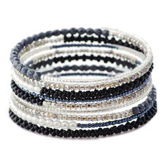 Memory Wire Bracelet Kit by FusionBeads.com | Fusion Beads
