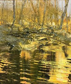 Lynn Boggess Contemporary Landscape, Contemporary Paintings, Abstract Landscape, Landscape Paintings, Landscapes, Virginia Occidental, Winter Landscape, Texture Painting, Abstract Sculpture