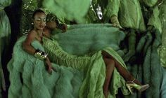 Norma Kamali designed the costumes for the hyper-colored Emerald City sequences in The Wiz (1978).