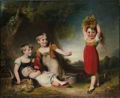 William Owen (British, 1769–1825). The Grandchildren of Sir William Heathcote, 3rd Baronet. The Metropolitan Museum of Art, New York. Gift of Heathcote Art Foundation, 1986 (1986.264.4)