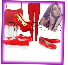 """""""Red Faboo"""" by meratvnetwork on Polyvore"""