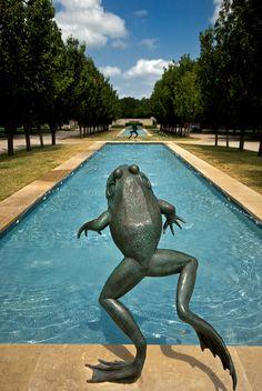 Fort Worth Botanical Garden Fountain