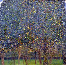 Gustav Klimt, Pear Tree, 1903 (later reworked) | Harvard Art Museums/ Busch-Reisinger Museum