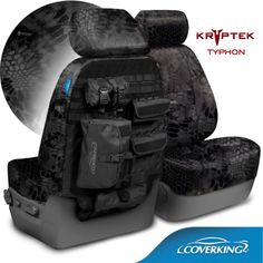 $249.99/Coverking-Kryptek-Cordura-Ballistic-Tactical-Seat-Covers-for-Nissan-Titan
