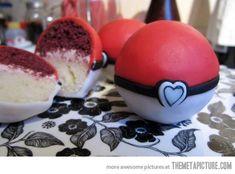 Pokeball layer cakes…