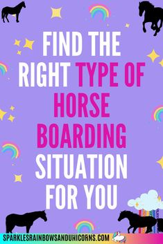 If you are going to be boarding your horse then you want to know what   your options are. Once you know your options then you can determine   which type of horse boarding best suited for you, your horse and your   situation. Read this post and know your options.   #sparklesrainbowsandunicorns #horseboard #horseboarding   #typesofhorseboarding #horseboarding tips Types Of Horses, Riding Lessons, Different Types, Horse Care, Equestrian, Messages, Reading, Tips, Word Reading
