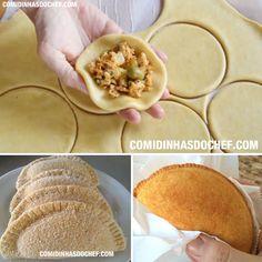 Para fazer a receita de massa de risoles fácil você precisa de poucos ingredientes e em menos de 20 minutos você já pode comer um salgado frito ou assado