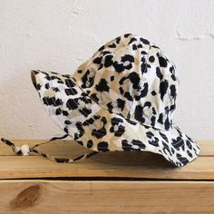 Leopard Panelled Sun Hat by Sunday the Label available now at www.blakeandleo.co.nz