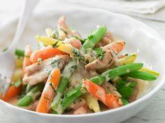 Fricassé de poulet et légumes, parfumée de fines herbes   Arctic Gardens