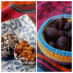 Healthy Easter bliss ball eggs and cocoa bites at lili's cakes #healthy #Easter #blissball #recipe