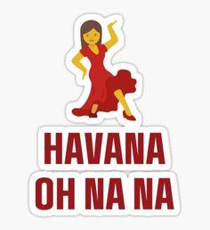 Pegatina RED Camila Cabello - Havana