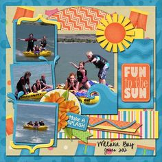 Image result for scrapbooking summer layouts