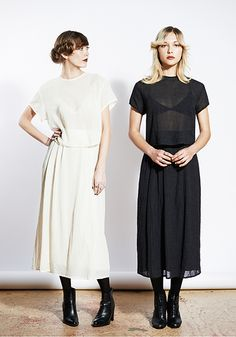 www.nosoeawe.com >> simple black and simple white - Ali Golden AW 2013