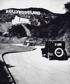 Original sign of Hollywoodland
