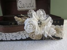 Wooden Wedding Card Holder Large by Thequirkycorncrib on Etsy, $65.00