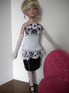 """""""Black Tie Affair"""" Outfit Ellowyne Wilde, Prudence, 16"""" Fashion Dolls"""