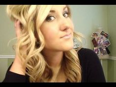 Curling your hair without frying your ends by Tiffany D. Would've never thought of using a curling iron this way but it makes A LOT of sense and looks great.