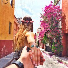 follow me to San Miguel Allende