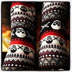Winter skull leggings
