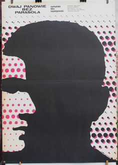 Polish original poster for the Romanian (1969) film - The Likeable Mister R. Author: Mieczyslaw Wasilewski (1970)